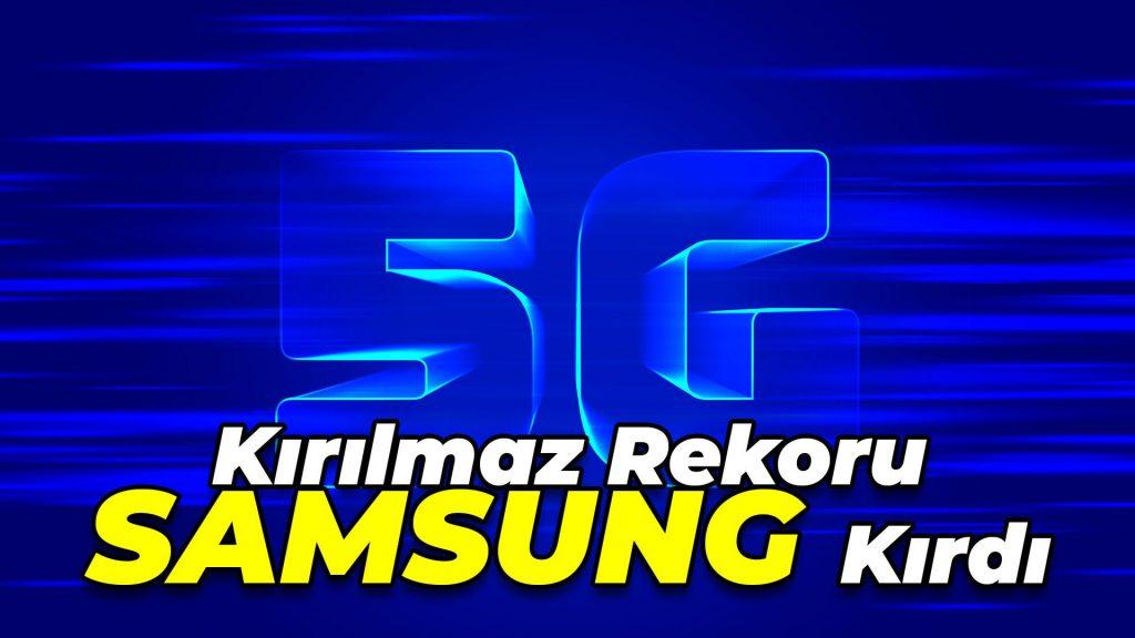 Kırılmaz Denen Hız Rekorunu Samsung Kırdı