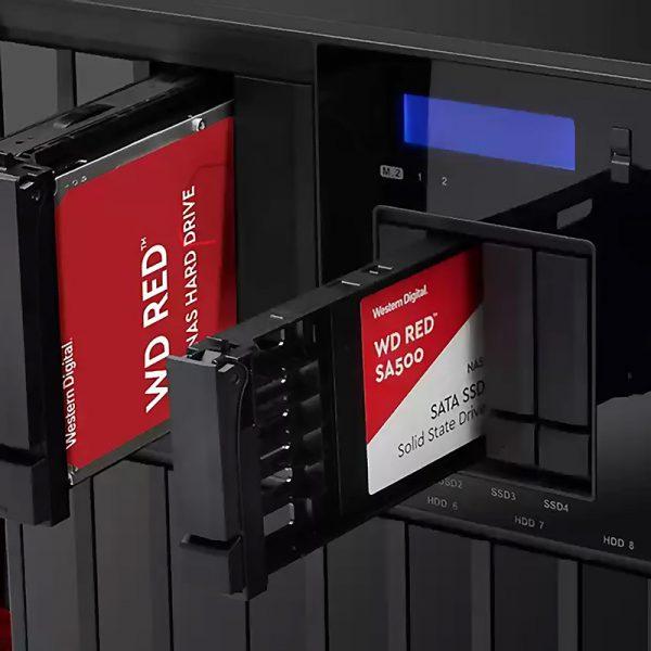 1TB WD RED WDS100T1R0A 560/530 3D NAND SATA SERVER ve NAS için SSD