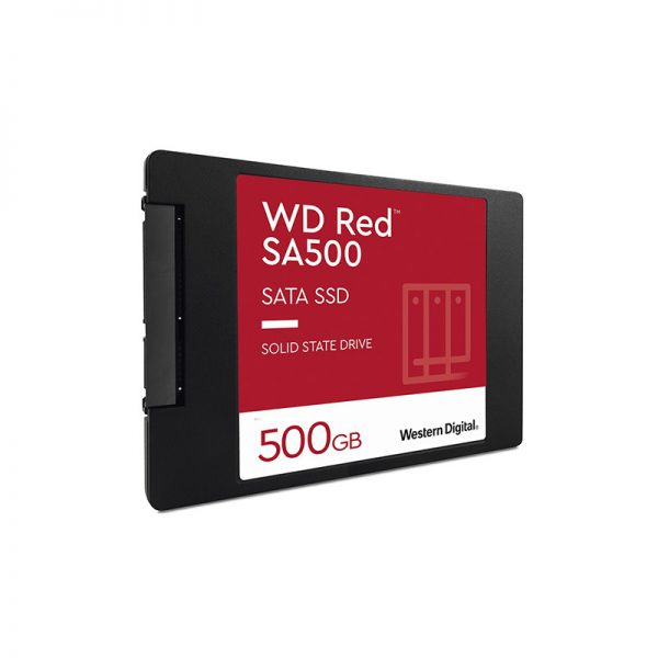 500GB WD RED WDS500G1R0A 560/530 3D NAND SATA SERVER ve NAS için SSD