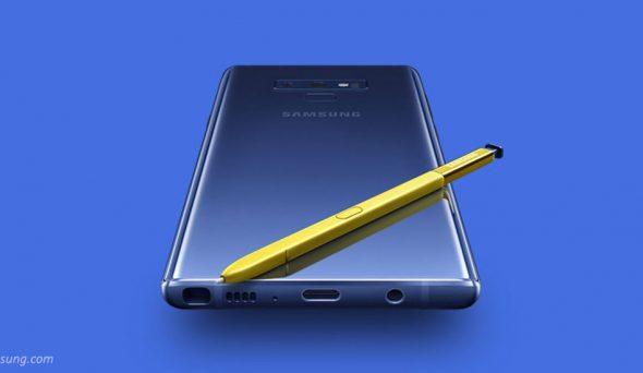 Yeni Galaxy Note 9 Özellikleri